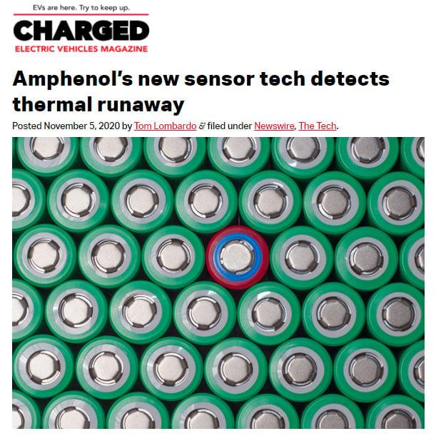 charged-ev-magazine-amphenol-new-sensor-technology-detects-thermal-runaway