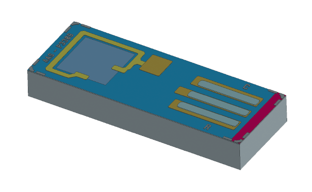 NovaSensor P330B | Absolute Pressure Sensor Die 1F