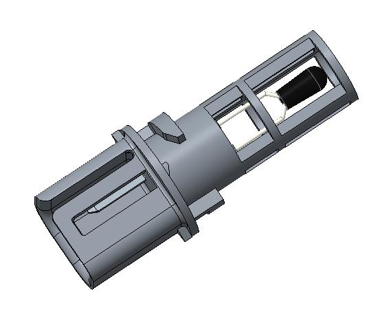 Thermometrics Sensor Assemblies | A-1996 HVAC Duct Temperature Sensor