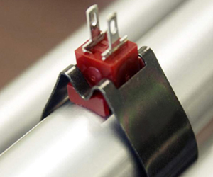 Thermometrics Sensor Assemblies | Clip-On Pipe and Surface Sensor - Type JW/JC